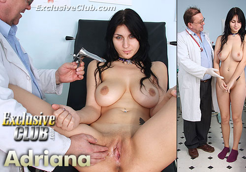 Adriana Gyno Doctor Exam Pics (453 pics)
