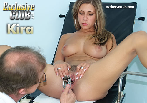 ExclusiveClub.com: Kira Gyno Examination