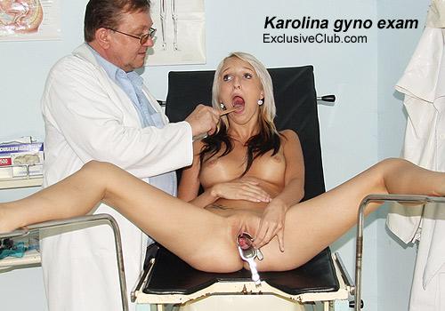Karolina Getting Her Pussy Exam Photos