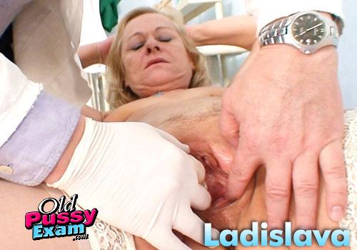 Ladislava Mature Gyno Pussy Speculum Examination