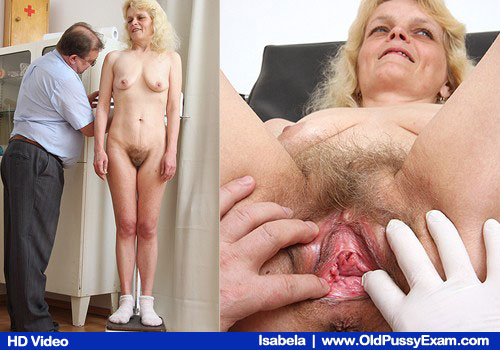 Ma'am Golden unshaved Girlie plus Unshaved Piss cunt Examined by Clinician