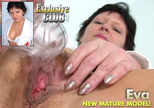 Mature Eva in Nasty Nurse HD Video