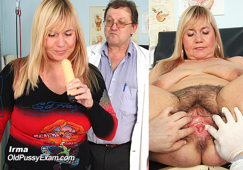 Mature Pussy Speculum Gyno Exam with Irma