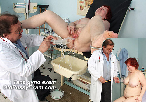Mature Tana Visiting Gyno Specialist for Pussy Exam