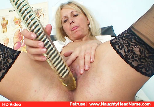 Mom Practical nurse doc Petruse Vag Gyno Play at Clinic