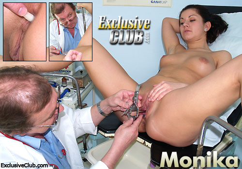 Monika Open Pussy With Speculum