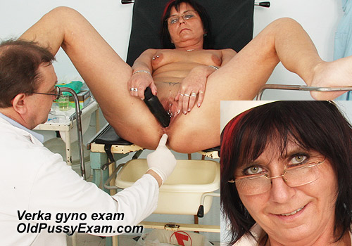 New Mature Gyno Patient Verka Pussy Exam