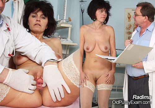 Radima Mature Pussy Gyno Gaping at Clinic