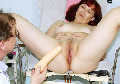 Zita Gyno Mature Pussy Speculum Exam Photos